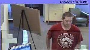 Bank robbery arrest