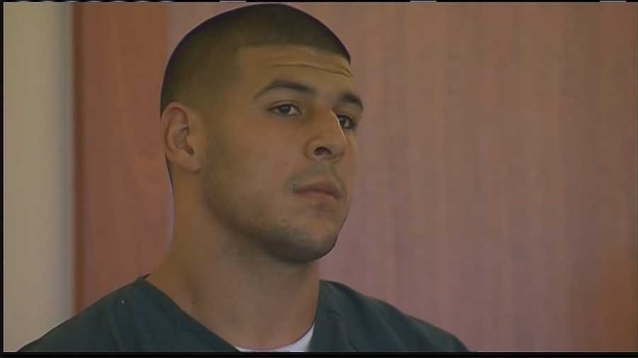 Hernandez was indicted on charges in connection with the death of Odin Lloyd on Aug. 22.