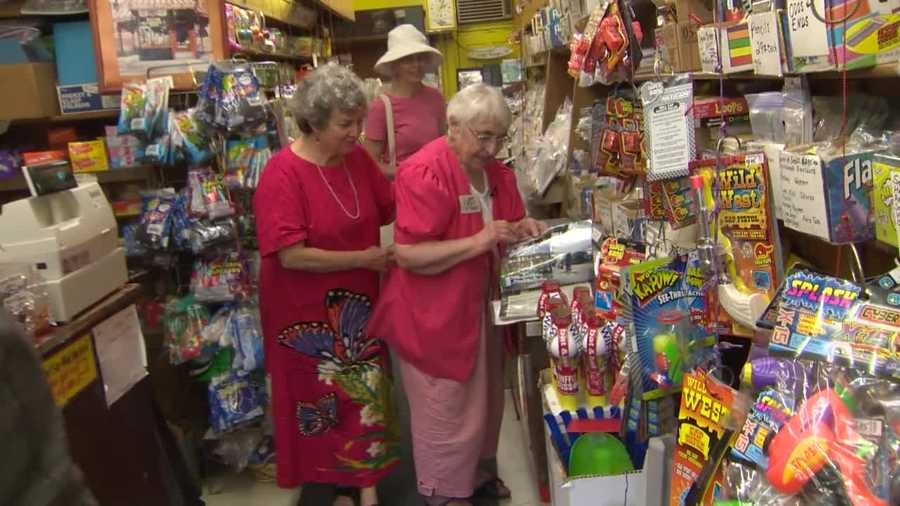 She says she's never thought of selling -- and definitely not retiring.