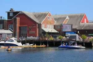 The competition was located right next to Anthony's Pier 4, in Boston's Seaport district.
