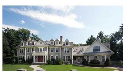 19 Pembroke Road is on the market in Wellesley for $4.29 million.