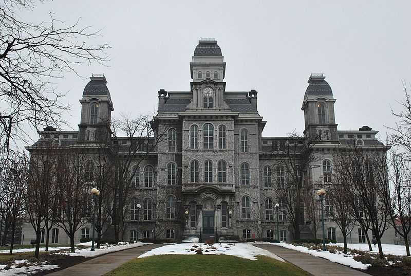 1.) Syracuse University