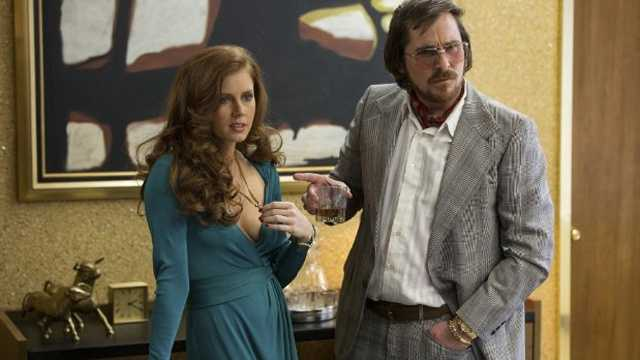 American Hustle: Christian Bale, Amy Adams, Bradley Cooper and Jennifer Lawrence star in this story of a con artist and his partner who work with federal agents to turn in other cons, mobsters and politicians.