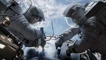 Gravity: Sandra Bullock and George Clooney star in this space thriller that features a mechanical engineer and an astronaut adrift in space after an accident.