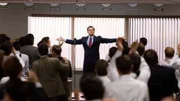 The Wolf of Wall Street: Martin Scorsese directs this true story of Jordan Belfort from his rise to a wealthy stockbroker to his fall into crime and corruption. Leonardo DiCaprio, Matthew McConaughey, Jonah Hill and John Favreau star.