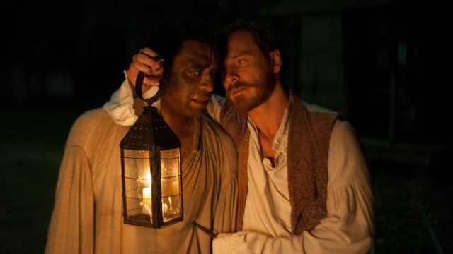 12 Years a Slave: A free black man from New York is abducted and sold into slavery in this pre-Civil War film. Chiwetel Ejiofor stars.