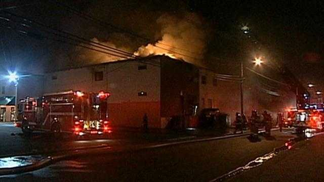 Beverly fire