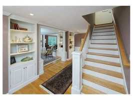 The home has 5,000 square feet of living space.