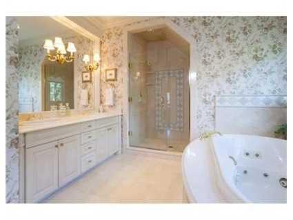 A luxurious bathroom.