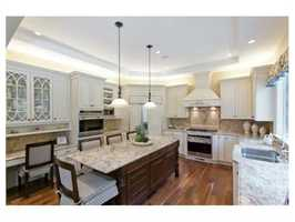 A recently renovated Kistler and Knapp kitchen.