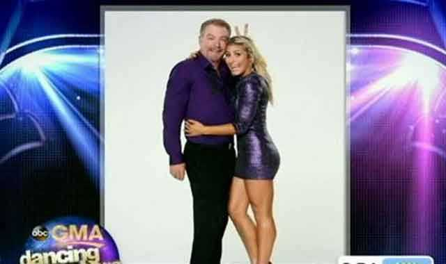 Bill Engvall, comedian, dancing with Emma Slater