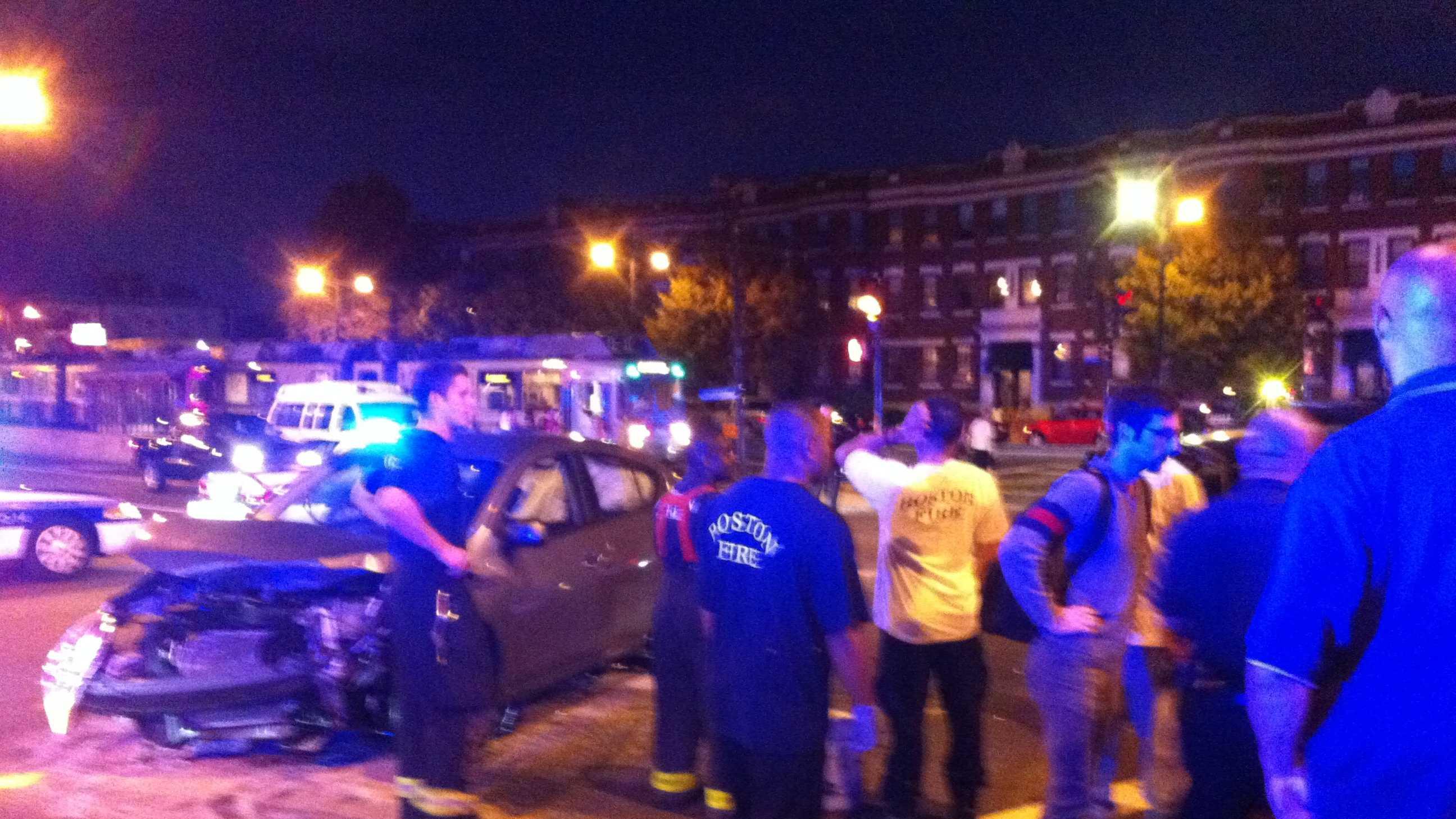 Boston police crash 090513