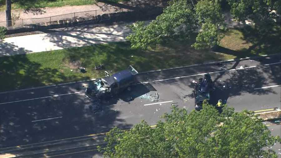 Six people were taken to local hospitals, a spokesman for Boston EMS said.
