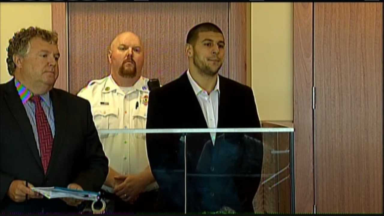Hernandez arraigned on murder charges