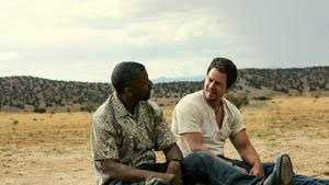 "Denzel Washington, left, and Mark Wahlberg in a scene from ""2 Guns."""