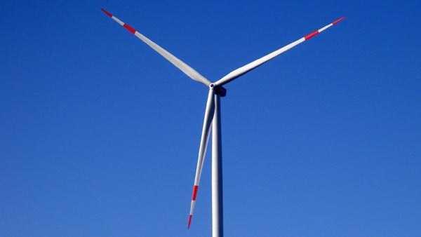 Example of wind turbine