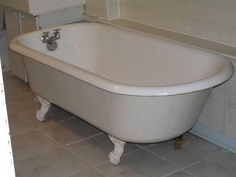 5.) Take a warm bath