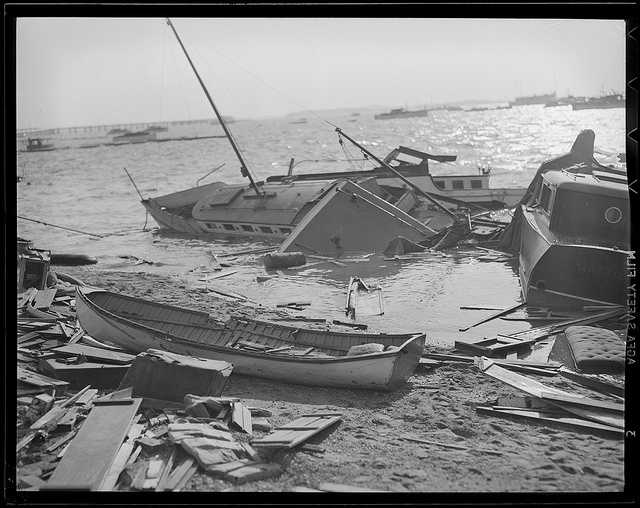 The Great New England Hurricane of 1938 was one of the most destructive and powerful storms ever to strike southern New England.