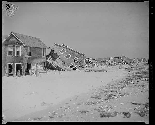 Hundreds of coastal homes were destroyed.