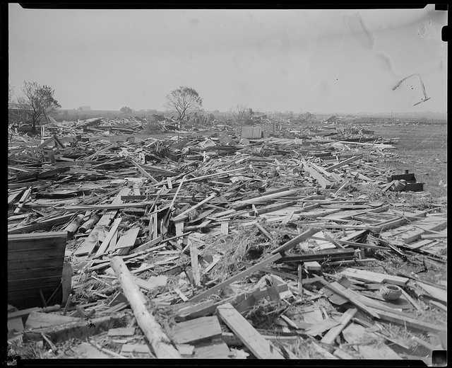 The storm destroyed more than 57,000 homes.