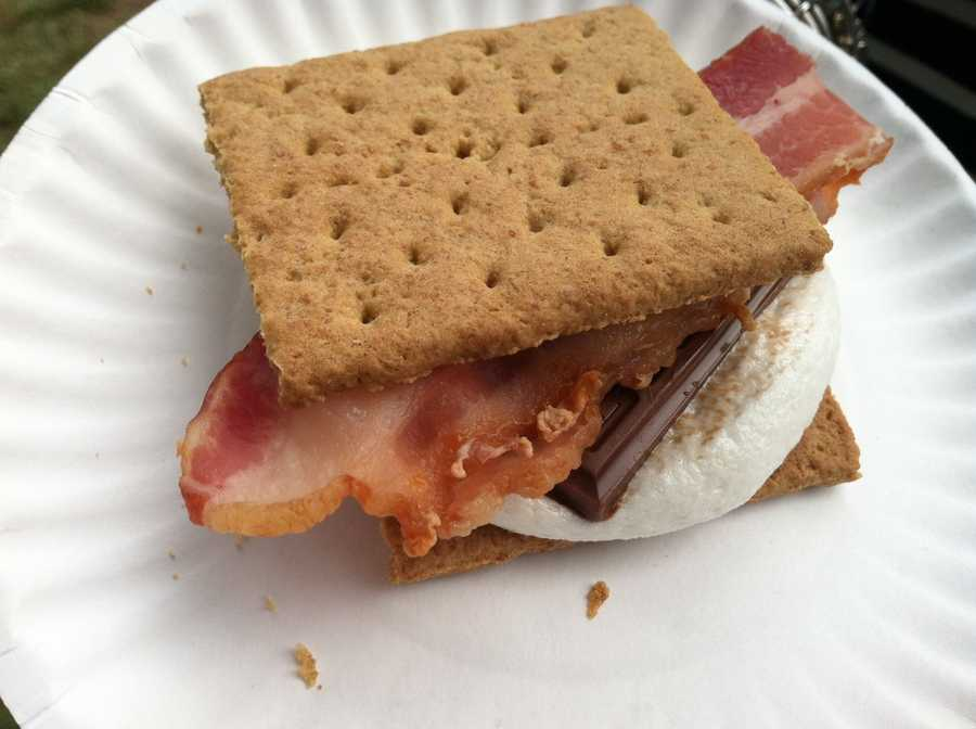 A Bacon S'more from New Hampshire
