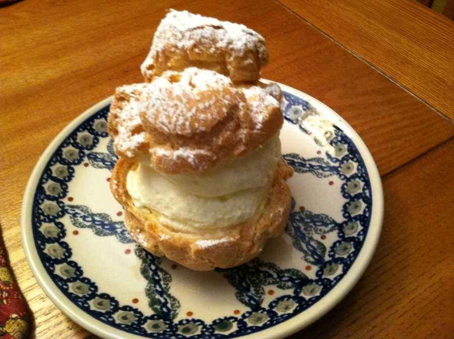 The Big E cream puff