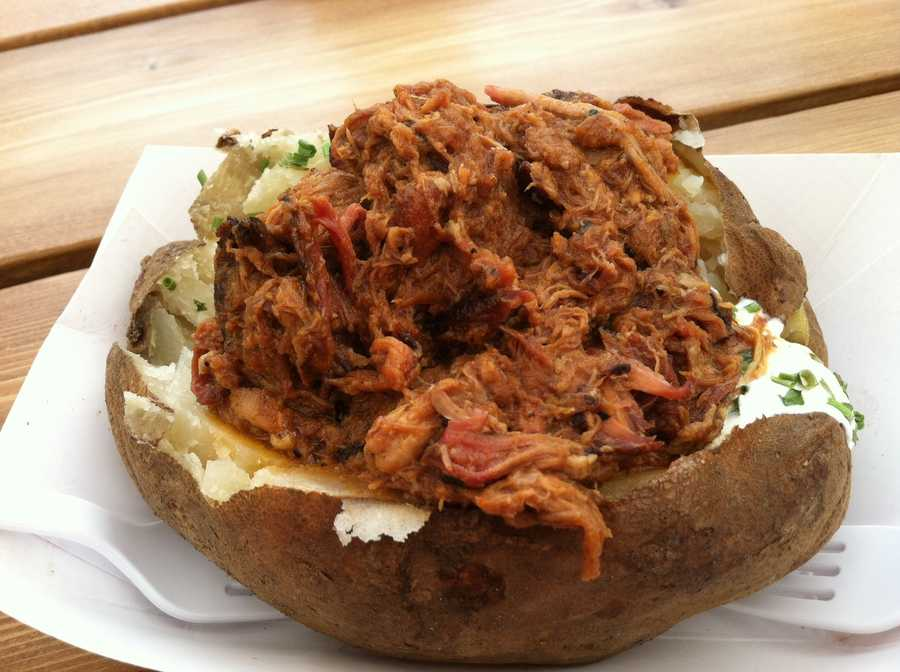 Pulled pork potato