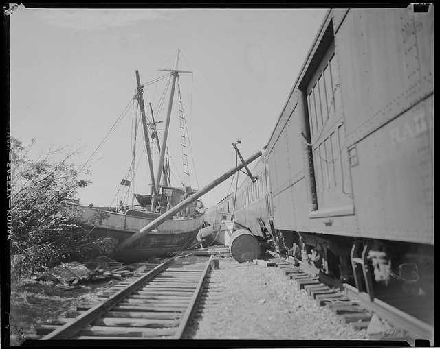Railroads, including the New Haven Railroad, were particularly hard hit.