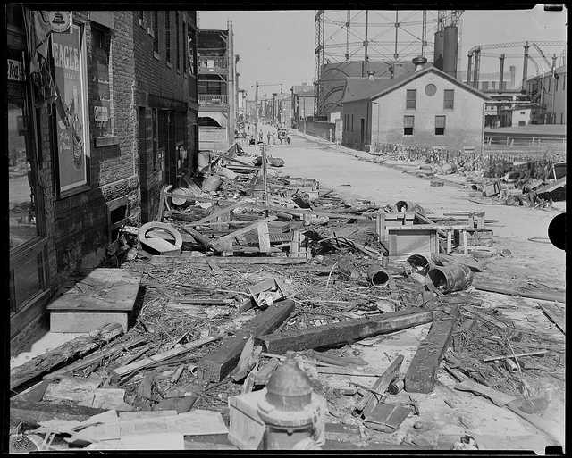 The 1938 storm is the second-costliest storm to hit New England. 2012's Sandy is the only storm to surpass its damage costs.