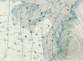 A NOAA map from Sept. 21, 1938, shows the system charging north.