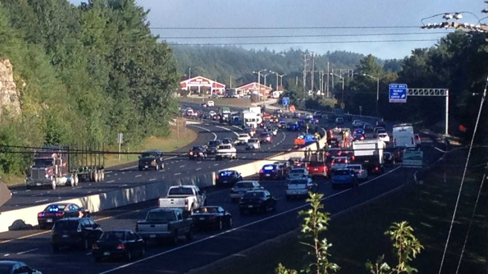 I-93 crash