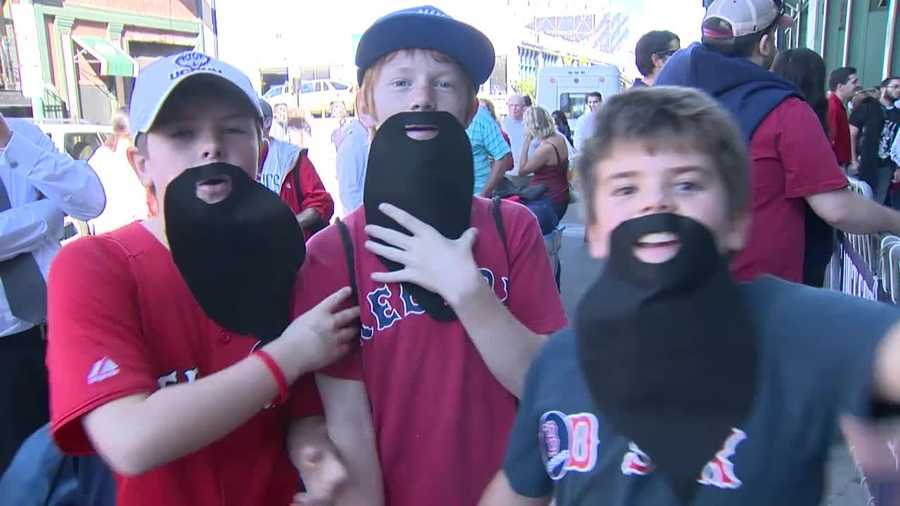 All it took was a beard and $1 to get into Fenway Park.