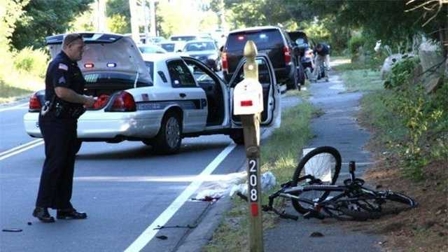 Boy on bicycle killed in Hopkinton accident