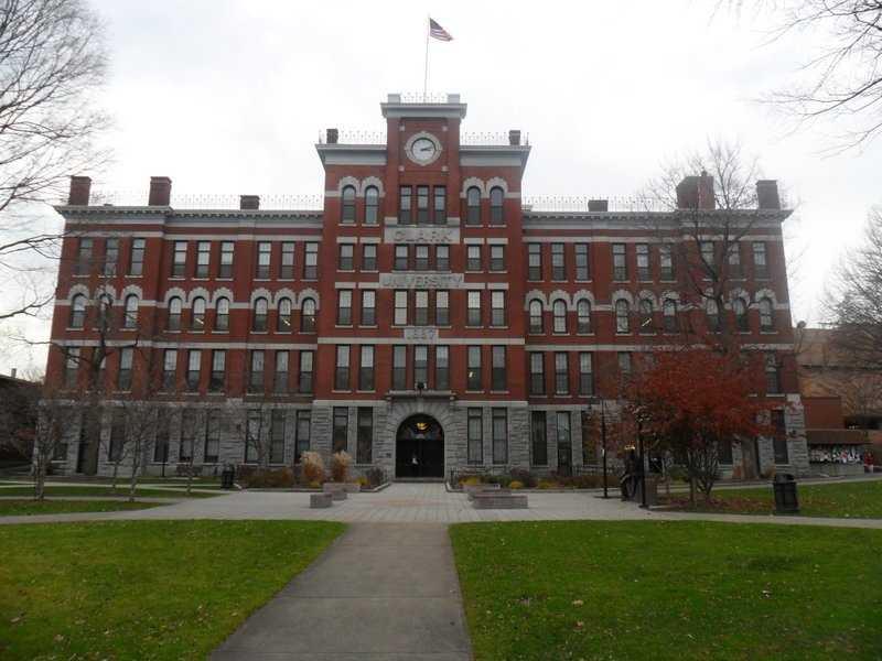 13) Clark University in Worcester