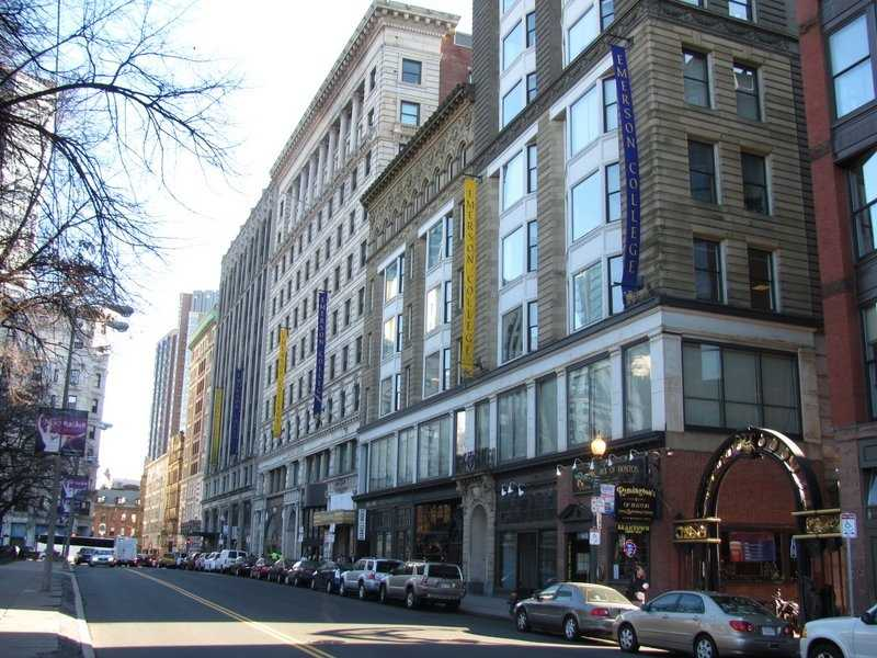 17) Emerson College in Boston. With an enrollment of around 4,500, 58 crimes were reported in 2012, including three violent crimes.