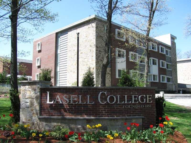 21)Lasell College in Newton