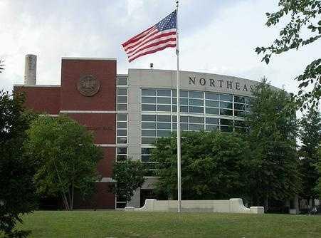 2)Northeastern University in Boston