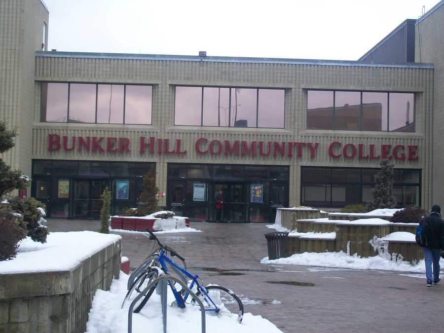 10)Bunker Hill Community College in Boston. Enrollment at the school is around 13,000. In 2012, police reported 83 crime incidents at the school, including six violent crimes.