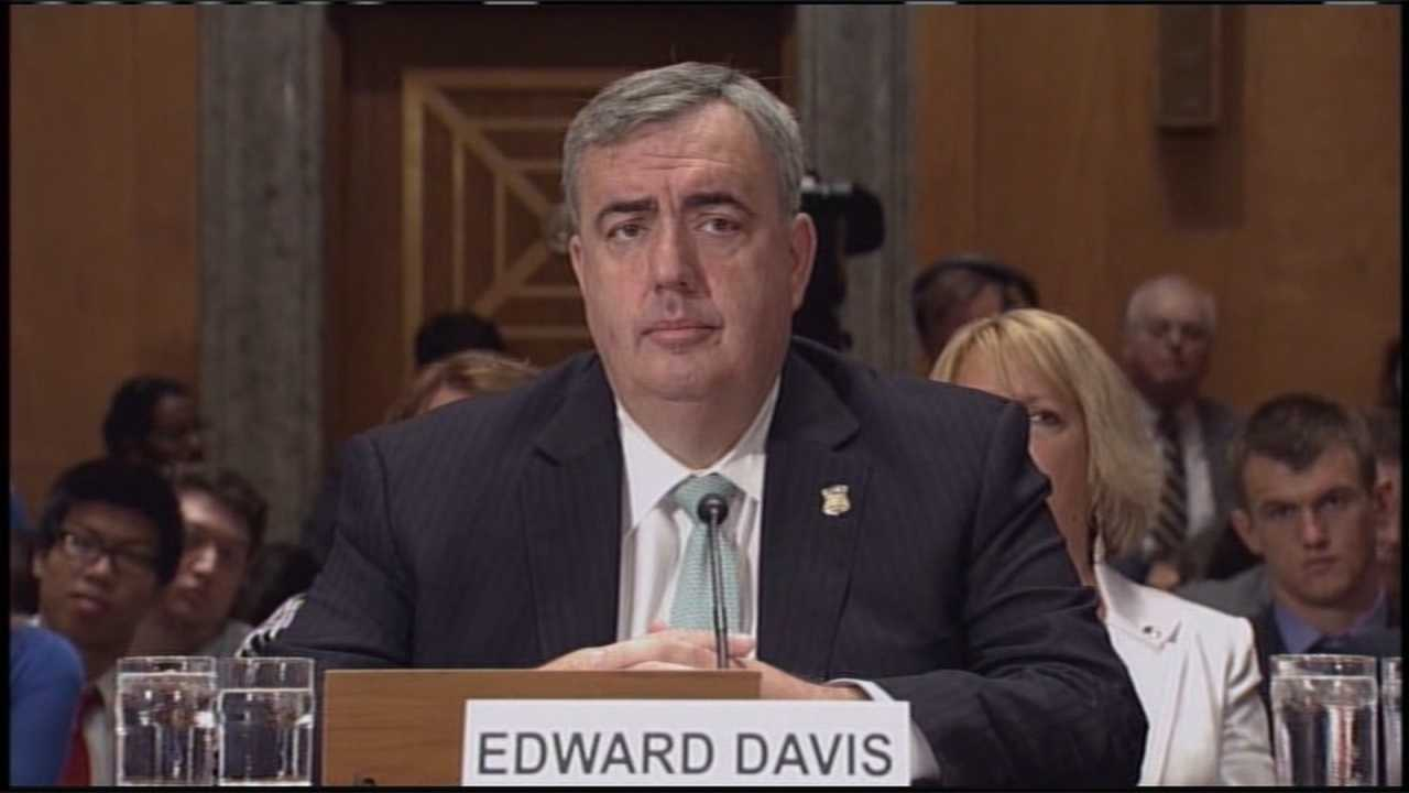 Ed Davis in Washington - file