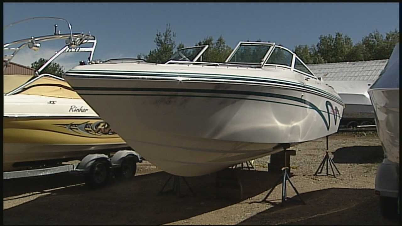 Boats stolen, stripped of parts