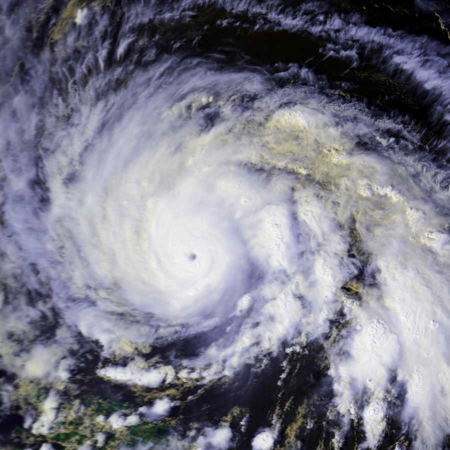 Hurricane warnings were issued for the East Coast from South Carolina to Maine.