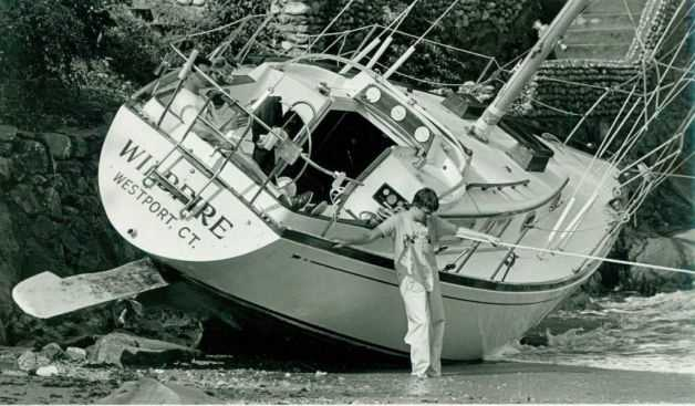 Hurricane Gloria struck the East Coast on Sept. 27, 1985. It was then the first significant hurricane to strike the northeastern United States since Hurricane Agnes in 1972.