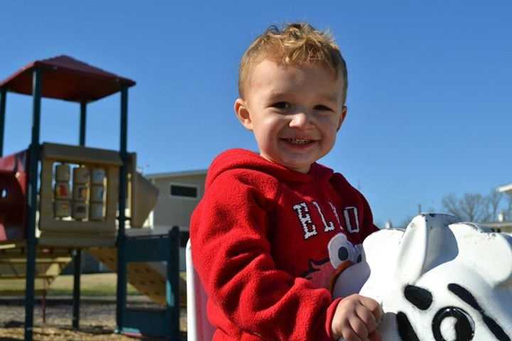 Cooper Rogers, 3, was hurt in a crash in Hillsborough that police say was caused by an impaired driver.