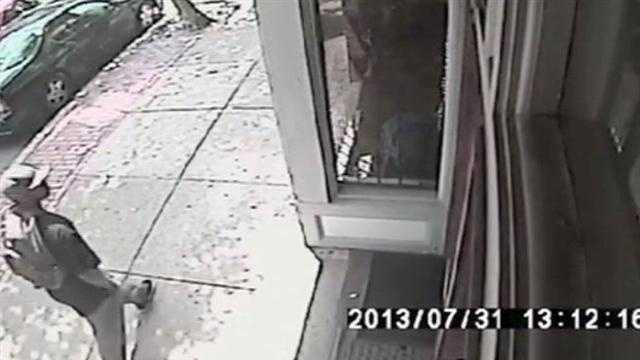 Boston police are asking for help identifying a man suspected in an armed robbery that lead to the shooting death of a 19-year-old man.