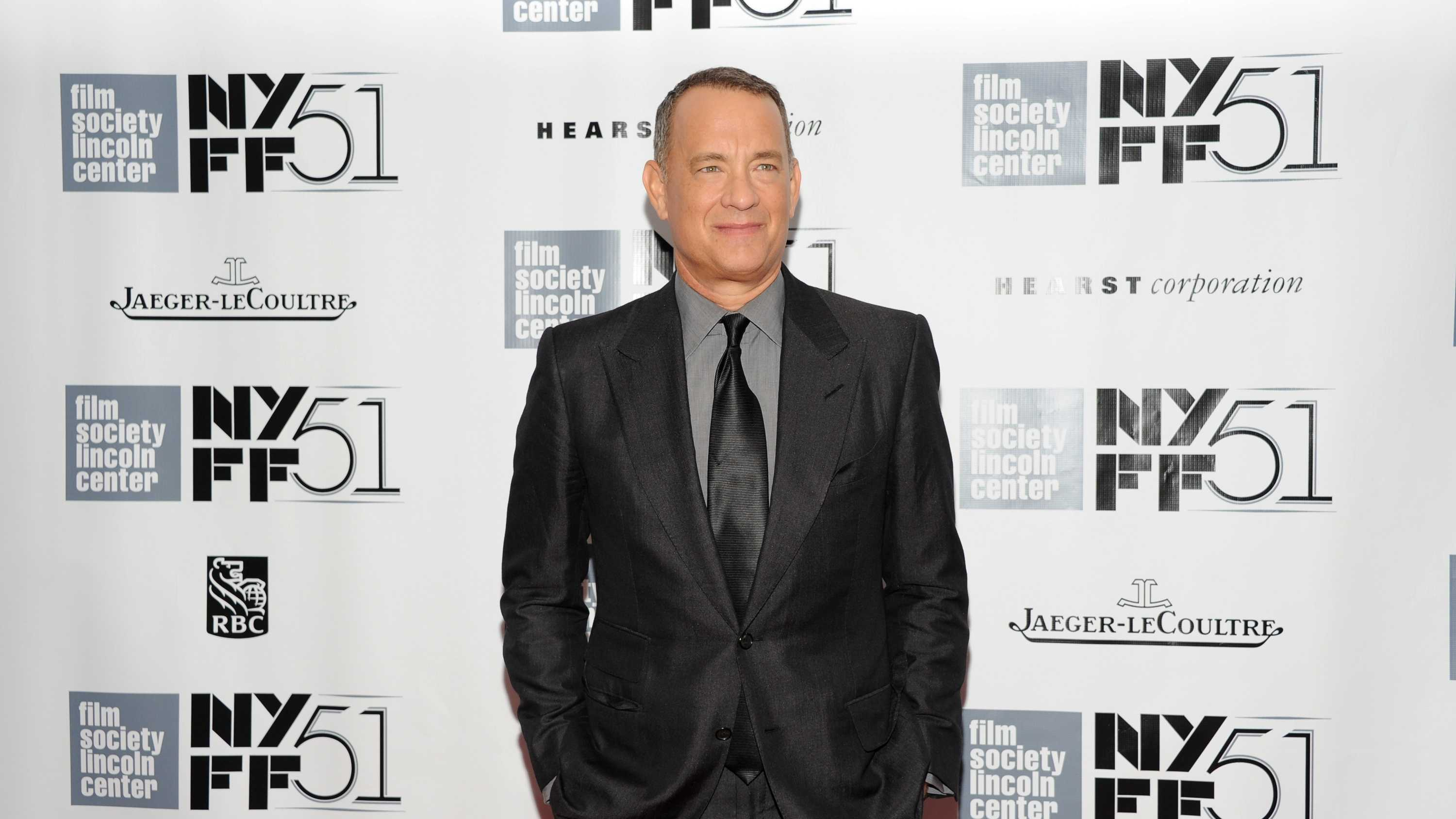 "Actor Tom Hanks attends the world premiere of ""Captain Phillips"" during the opening night of the 51st New York Film Festival on Friday, Sept. 27, 2013, in New York."