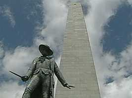 The Bunker Hill Monument is closed.