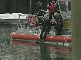 The Coast Guard will be hard at work, although their paychecks would be delayed.