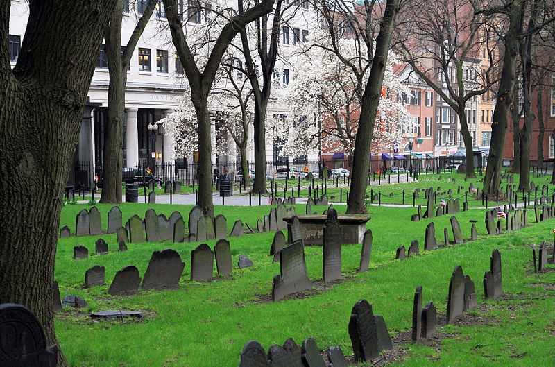 The Granary Burying Ground, one of Boston's oldest cemeteries, might be off limits. The cemetery is the final resting place for many notable Revolutionary War-era patriots.