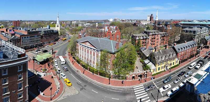 Harvard University is named after John Harvard, its first benefactor.