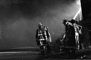 85 Chiefs and 1,113 officers and firefighters fought the fire.